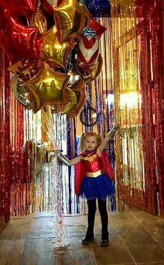 Wonder Woman 4th Birthday Party