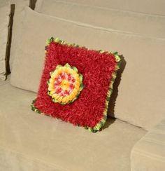 Almofada Decore com Girassol Central