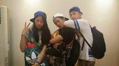'Show Me The Money 3's B.I, Olltii, and Yuk Ji Dam show their team spirit in a friendly snapshot | K-POP With