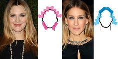 How to contour your face shape with hair colour
