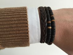#men #middle_aged #street #fashion #brecelet #accessories