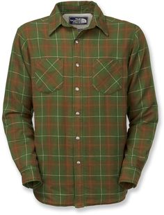 The North Face Trapper Flannel Jacket - Men's - Free Shipping at REI.com