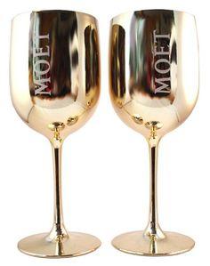 Moet & Chandon Gouden Glazen Duo