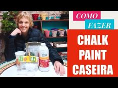 Aprenda a Fazer Chalk Paint - A Tinta Que Cobre Tudo!!! - YouTube Tinta Chalk Paint, Chalk Pens, Pintura Country, Youtube, Diy Videos, Painting, Angel, Painting Furniture, Painting On Glass