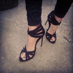 Black Zara higheel's