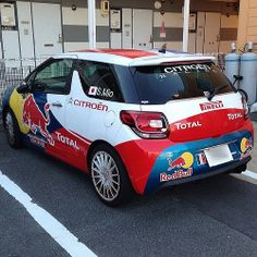 #redbull #citroen #total #ds3 #red #bull #car #cars #ride #drive #carporn #race #racing #speed #exotic #auto #ClassicModernCars