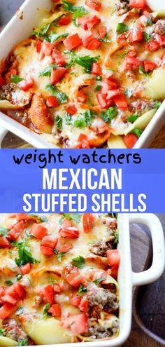 Mexican Stuffed Shells – Recipe Diaries