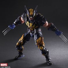 Square Enix Puts Their Crazy Spin On Wolverine
