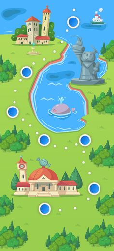 53 best map images on pinterest game ui game design and game newton mobile game world map by andreas polyviou via behance gumiabroncs Image collections