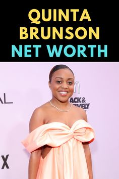 Quinta Brunson is an American actress. Find out the net worth of Quinta Brunson.