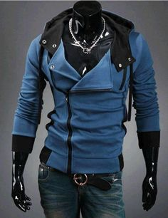 BIERELINNT Assassin Creed Style Cardigan Hoodies
