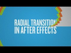 How To Create a Radial Transition in After Effects - YouTube