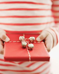 Sweet Paul: Chasing the sweet things in life. Jingle Bell Baker's Twine for Wrapping