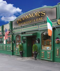 O'Connors Irish Restaurant.. Everything is awesome, closest thing to being in Ireland and the foods better (i've been there). Chicken Wellington, Burgers, Beef & Guinness Pie, Potato Nachos