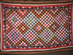 Ralli Quilt | Patchwork ralli quilt | Flickr - Photo Sharing!