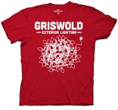 Amazon.com: Griswold Christmas Vacation Christmas Lights T-Shirt: Clothing