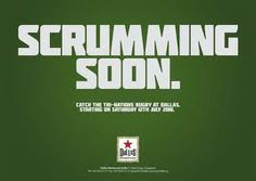 rugby advertising - Google Search