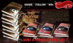 #WIn A #Kindle _Don't miss out on this phenomenal ride across the high seas with the Valkyrie Series by Karen Perkins