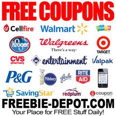 FREE Coupons | FREE Grocery Coupons | FREE Local Coupons | FREE Printable Coupons | Freebie Depot