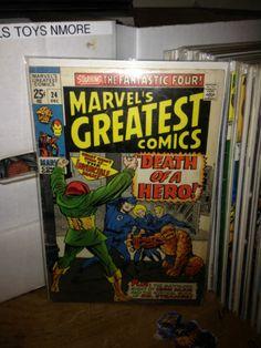 MARVEL'S GREATEST COMICS #24 FANTASTIC FOUR, MARVEL COMICS