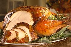 Roasted Butter Herb Turkey...just in time for the holidays!
