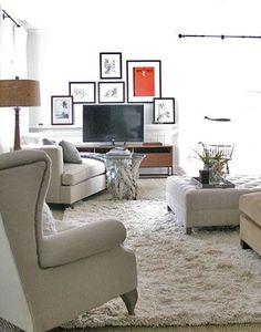Wall Sconces Around Tv : Decorating around TV on Pinterest