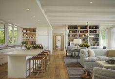 Kitchen Cabinet Floor Plans Pt1 - Dining Room Kitchen Open Floor Plan