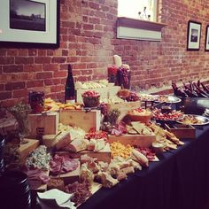 Meat  Cheese Display  Table 301 Catering | Greenville, SC