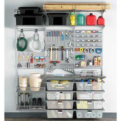 The Container Store Platinum 15 elfa utility Boards