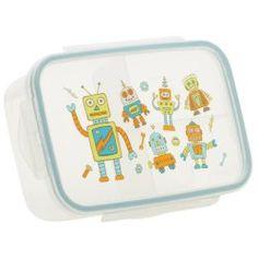 Sugar Booger Retro Robot Divided Lunch Box