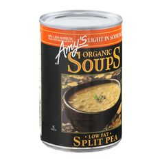 Amy's Organic Soups Low Fat Split Pea