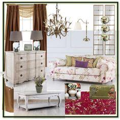 MyLittleFrance 5 by ekaterinadmitrieva on Polyvore featuring polyvore, interior, interiors, interior design, дом, home decor, interior decorating and Royal Velvet