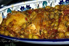 poulet aux olives bonjour tout le monde, une très belle photo n'est ce pas? ce délicieux tajine de poulet aux olives, préparé avec du zeste de citron et tomate séchée, une recette qui nous vient de la soeur de mon amie Lunetoiles, et franchement, moi même je lui ai demander la recette tout de ...