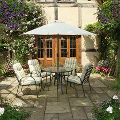 ACHICA | Devonshire Garden Provence 6 Piece Dining Set