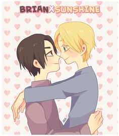 QAF - Justin and Brian by Melllorine on DeviantArt