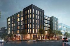 Condominium Architecture, Architecture Design, 3 Storey House Design, Seattle Apartment, Seattle City, Residential Complex, Commercial Architecture, Prefab, Queen Anne