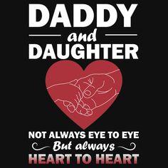Daddy Daughter Not Always Eye To Eye
