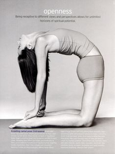 A simple idea- open up your chest through asana and you'll open up your heart and mind to the world around you.