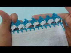 Barrado de crochê #133 - YouTube