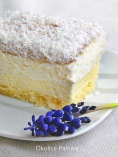 Sweet Desserts, Dessert Recipes, Polish Recipes, Russian Recipes, Relleno, Vanilla Cake, Gelato, Recipies, Cheesecake