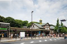 Harajuku Station (JR原宿駅).</b> Architect : Kaoru Hasegawa (設計:長谷川馨). Contractor :  (施工:).