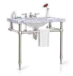 Elegant Bathroom Vanities P7303900ad In Nickel Silver By