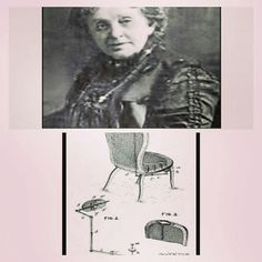 @Regrann from @themamamiax -  Miriam E Benjamin was the second black woman to receive a U.S. patent for her invention. July 17 1888 patent #386289 was issued to Miriam for inventing the gong buzz chair. Her invention allowed guest to summons waiters from the comfort of their chair. This made fine dining even more pleasurable. A button was placed on the side of the chair and when pressed a light in the waiters station would alert them. Her invention became the prototype for alerting staff in…