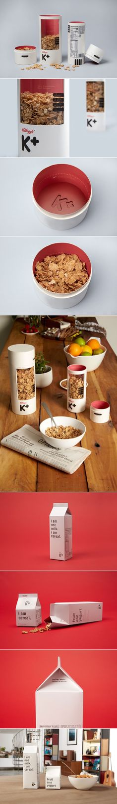 A creative redesign concept of Kellogg's 'Special K' cereal for adults