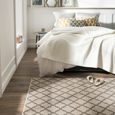Buy Maestro Tile Ivory Rug at Carpetright, the UK's leading carpet, flooring and rug retailer. Buy from our new range of great value online exclusive rugs today. Furniture, House, Taupe, Sheets, Taupe Rug, Home Decor, Rugs, Bed, Flooring