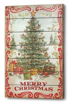 Silvestri Winter Merry Christmas Tree Wall Art