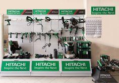 Il nostro rivenditore La Ferramenta srl condivide con noi questa foto della sua esposizione Hitachi