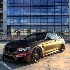 Satin rainbow M4 coupe