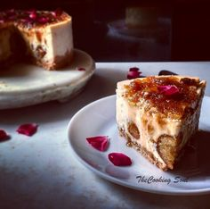Gulab Jamun Cheesecake #cheesecake #eggless #bakedcheesecake #gelatinfree #gulabjamuncheesecake #fusiondessert #dessert