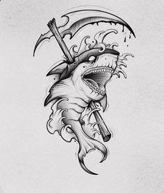 Hai Tattoos, Arrow Tattoos, Body Art Tattoos, Tattos, Tattoo Design Drawings, Tattoo Sketches, Tattoo Designs Men, Black Tattoos, Small Tattoos